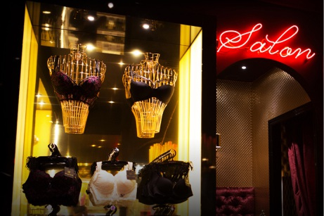 A Honey Birdette shopfront.