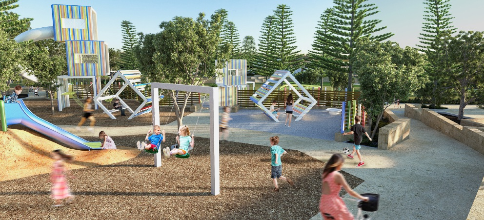 Jindalee foreshore playground to open in late August