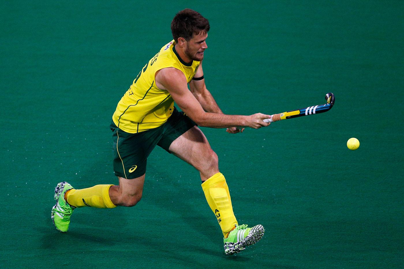 Matt Gohdes got on the score sheet for Australia. Photo: Getty