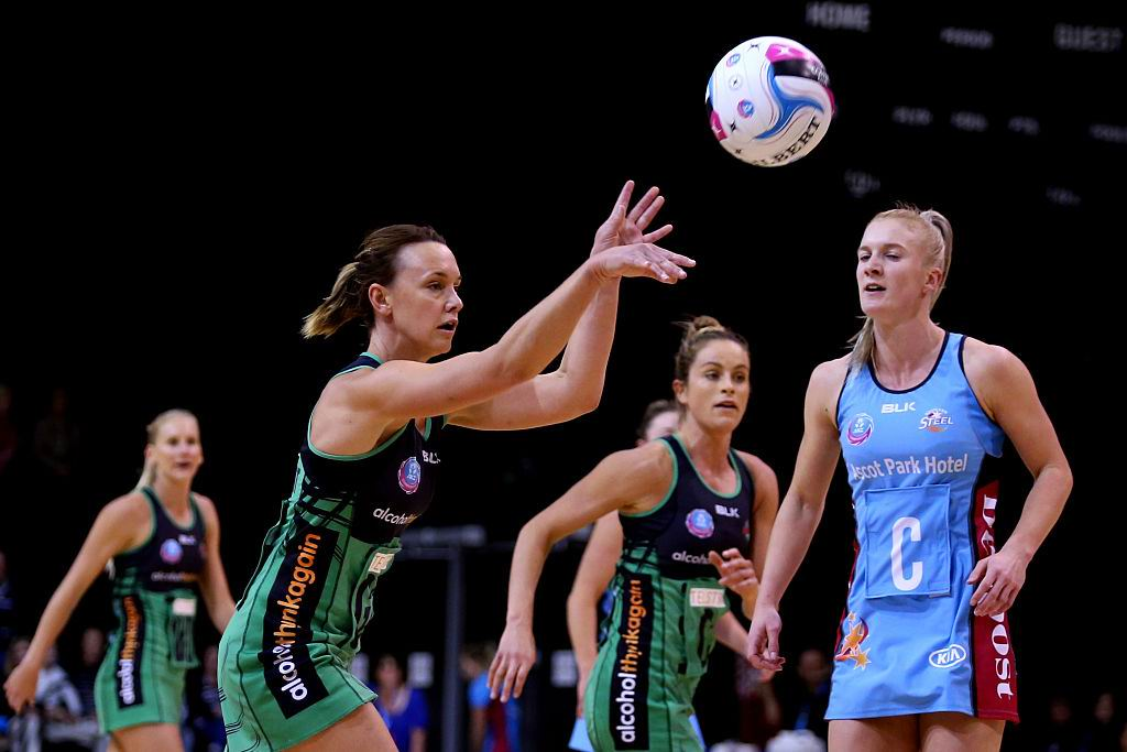 Nat Medhurst was named West Coast Fever MVP over the weekend. Picture: Getty Images