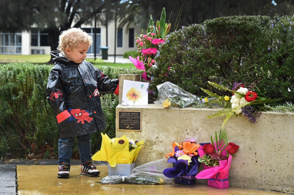 Ethan Richter (3)  is the nephew of missing Mandurah teenager Hayley Dodd, who disappeared in 1999. Picture: Jon Hewson www.communitypix.com.au   d456164