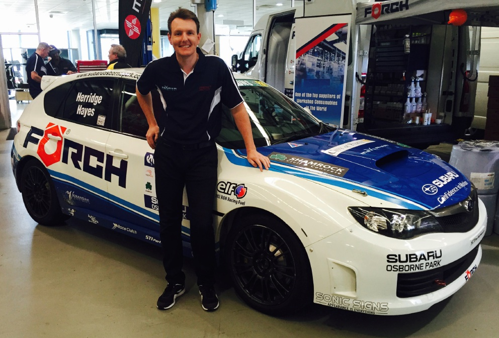 Dean Herridge will team up again with Bill Hayes for this year's Targa West rally.