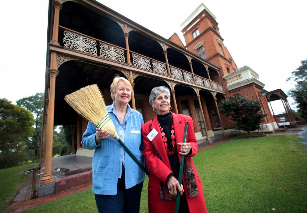 Historic Woodbridge House is open again