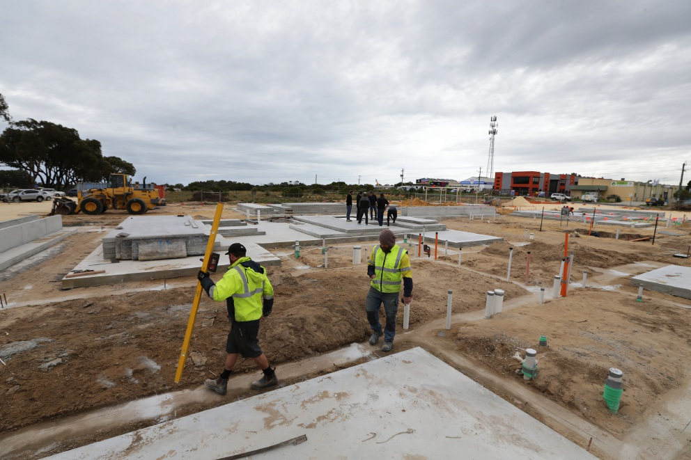 Building underway on Yanchep Institute