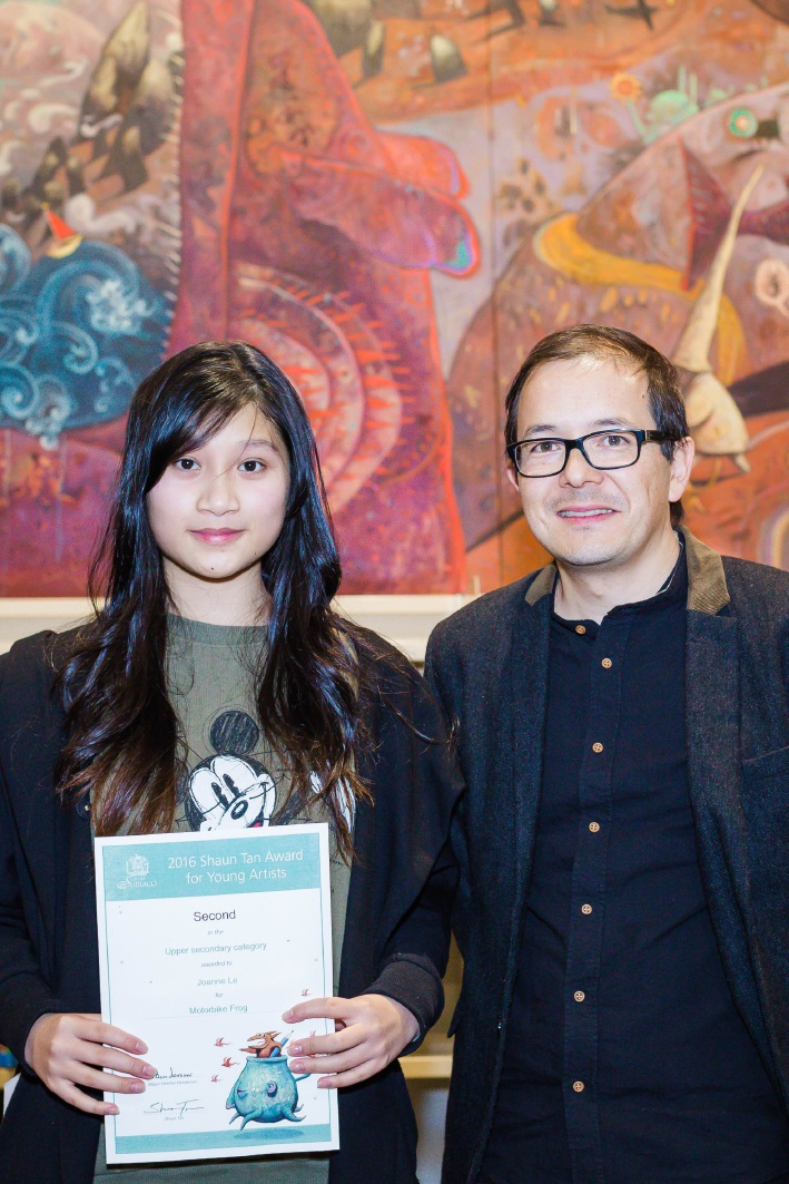 Young Duncraig artists win top prize in state art competition