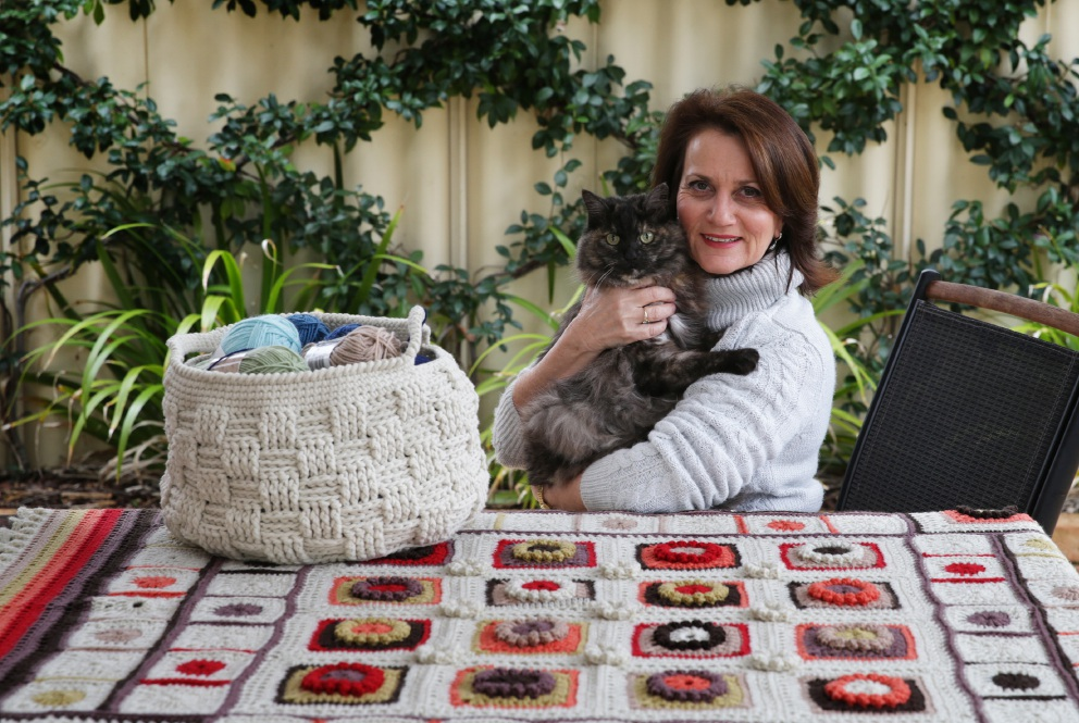 Craigie resident Anna Dyer's work of her cat Bella. Picture: Martin Kennealey
