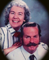 Deceased taxi driver Lindsay Ferguson with wife Valerie.