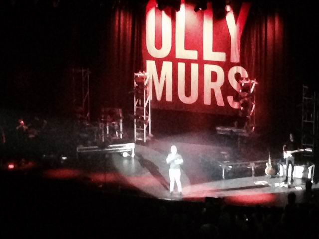 Olly Murs at Perth Convention and Exhibition Centre.
