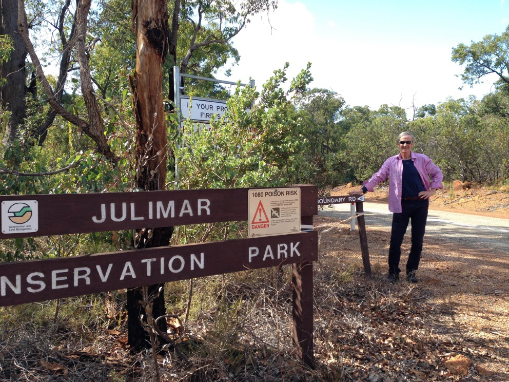 Dr Duncan Jefferson who started the Pilgrim Trail from New Norcia.