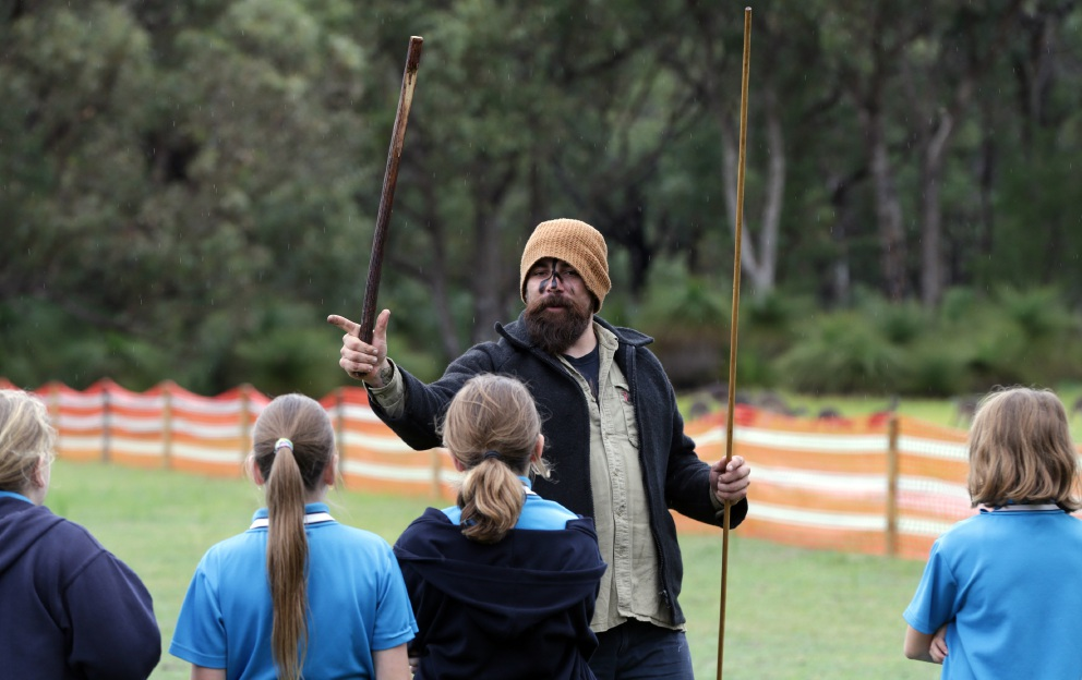 NAIDOC Week: Yanchep District High students take part in traditional Aboriginal Games