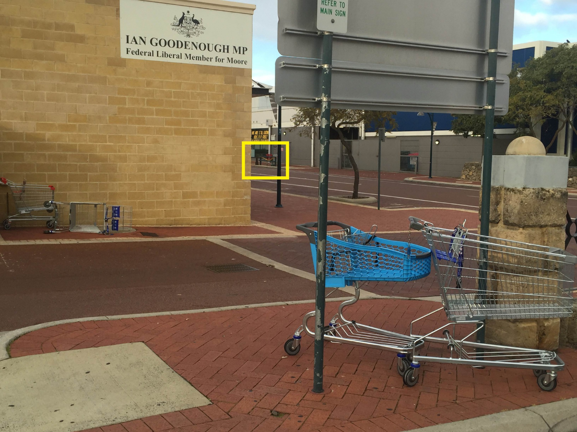 Joondalup MLA pushing agenda on trolley problem in CBD