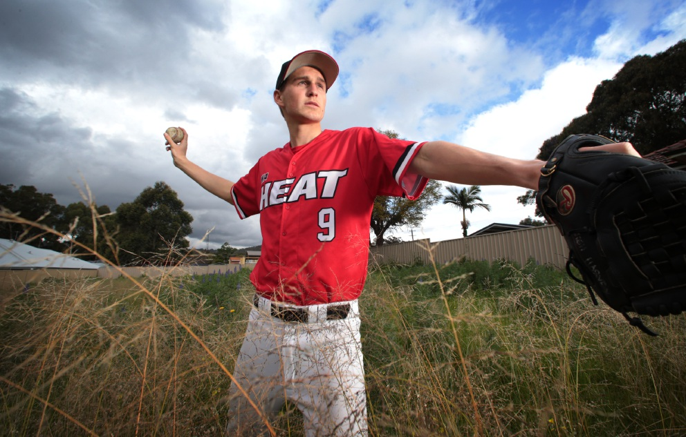 Former La Salle College student pitching a career in baseball