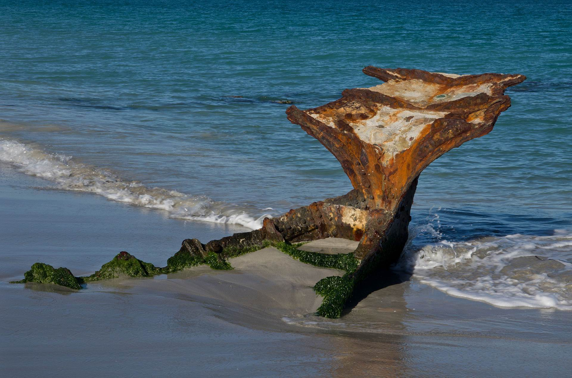 Wreck of the SS Wyola.