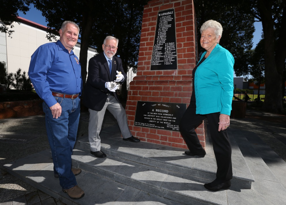 Armadale war memorial still stands tall a century on