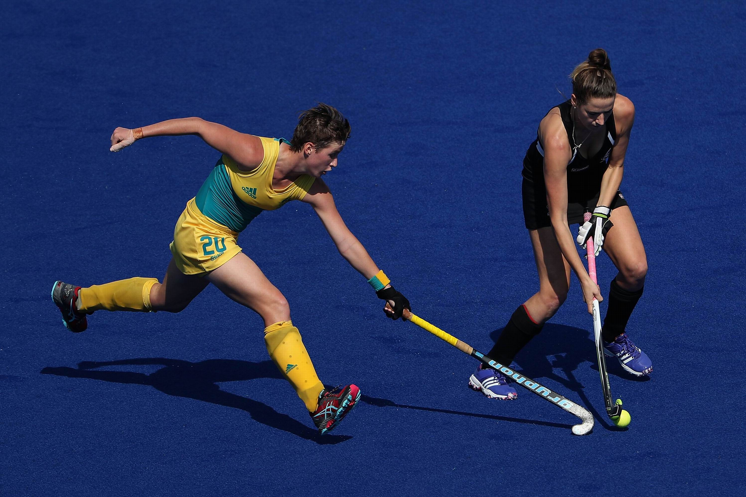 New Zealand were too strong for the Hockeyroos. Photo: Getty