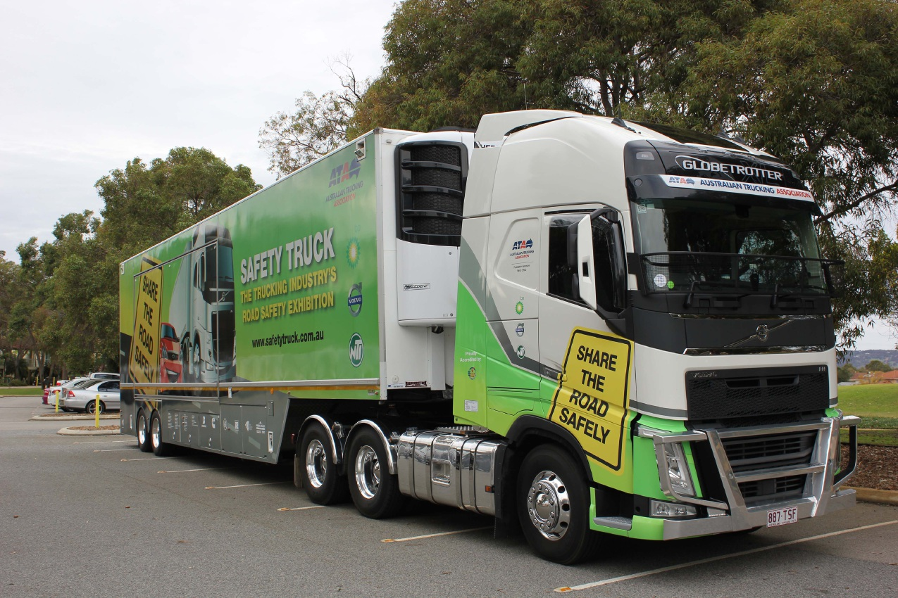 The Australian Trucking Association's Safety Truck.