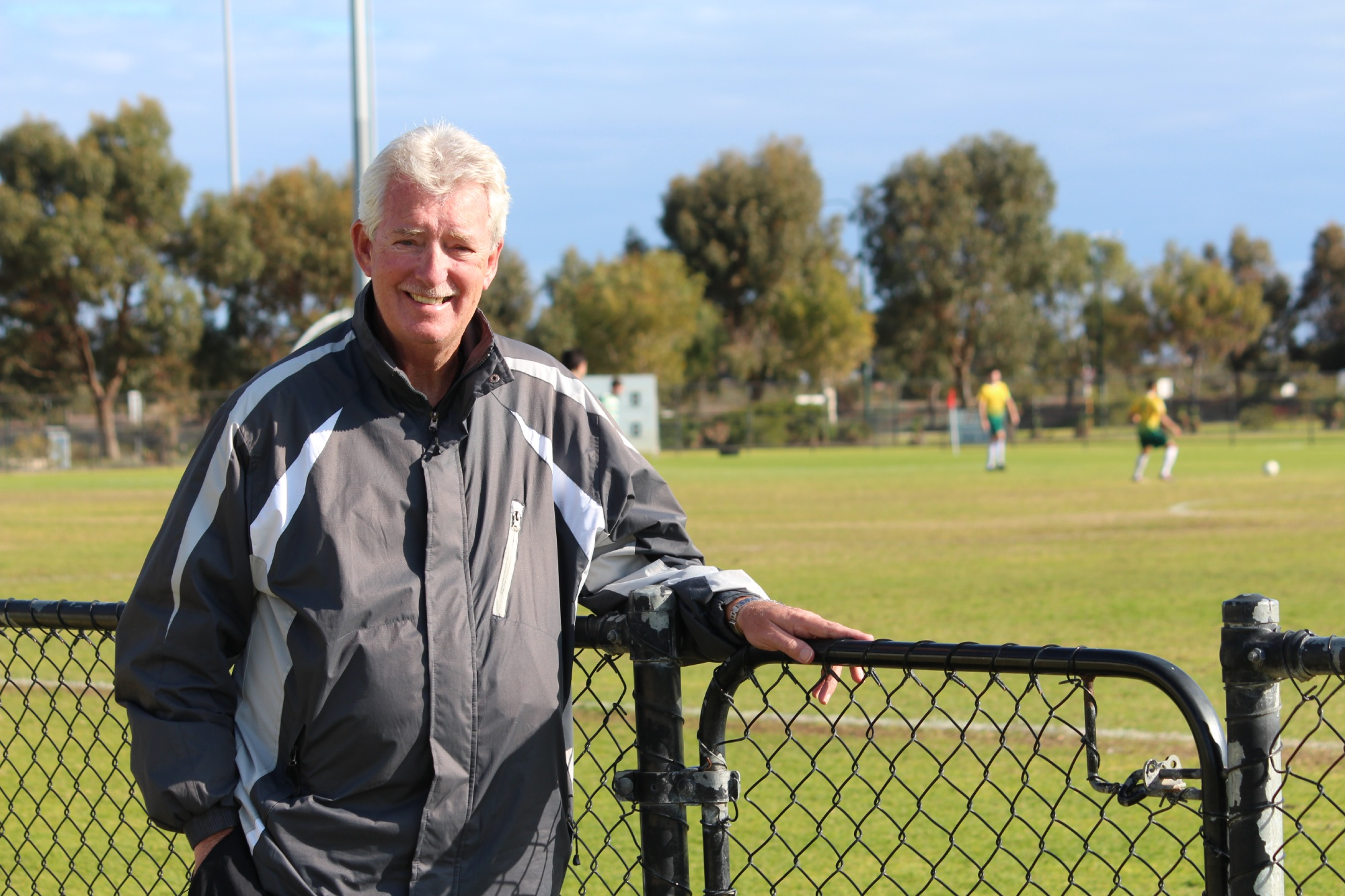 Caption: Rockingham's Mike Tetlow will be inducted into the WA Football Hall of Fame in November.