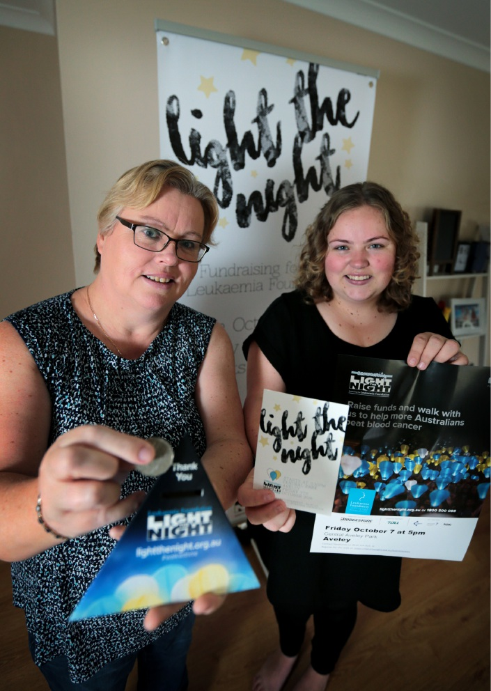 Jackie Jones with daughter Stephanie Brown are organising a Light the Night event at Aveley Central Park in October.  Picture: David Baylis        d458182