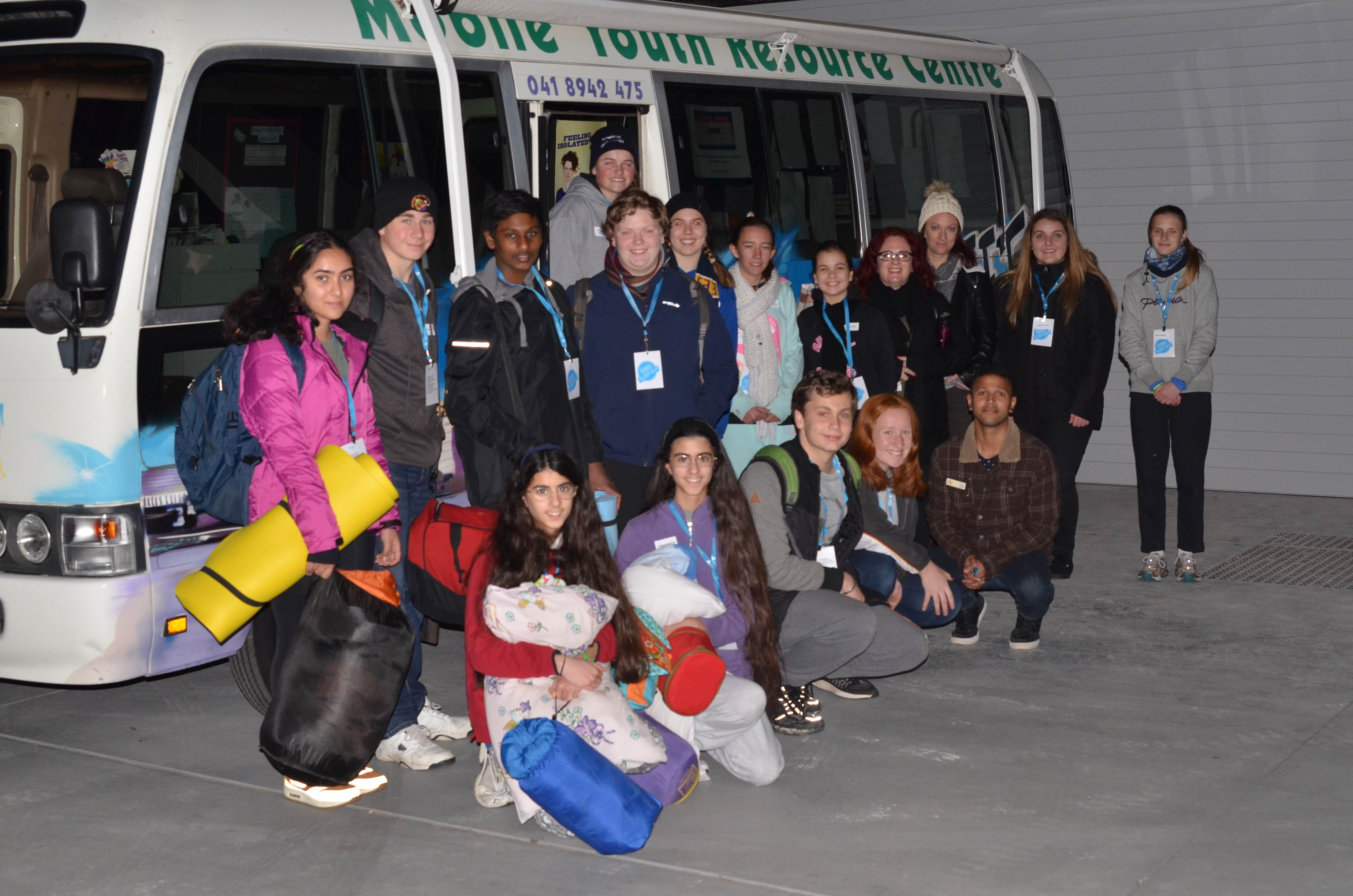 Perth Anglican schools sleepout for Anglicare's first school event