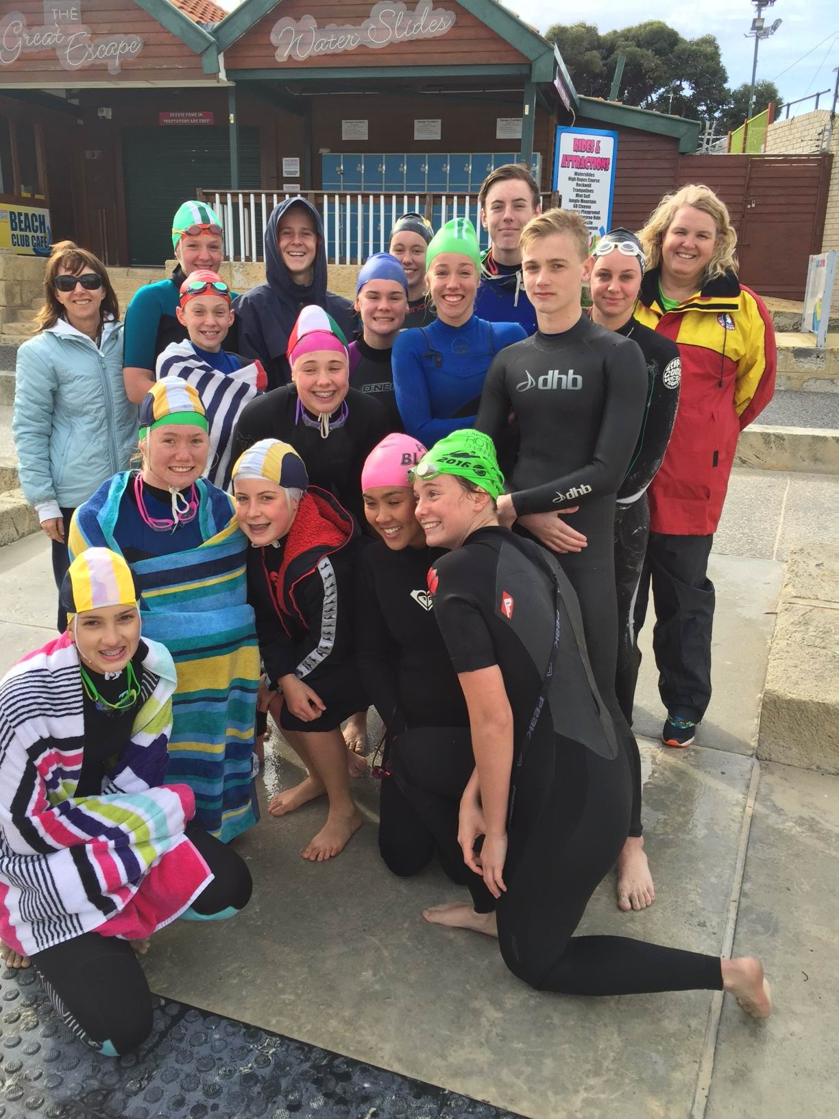 Sorrento SLSC members did a bronze medallion course.