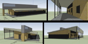 Concept plans for Riverlinks  clubrooms.