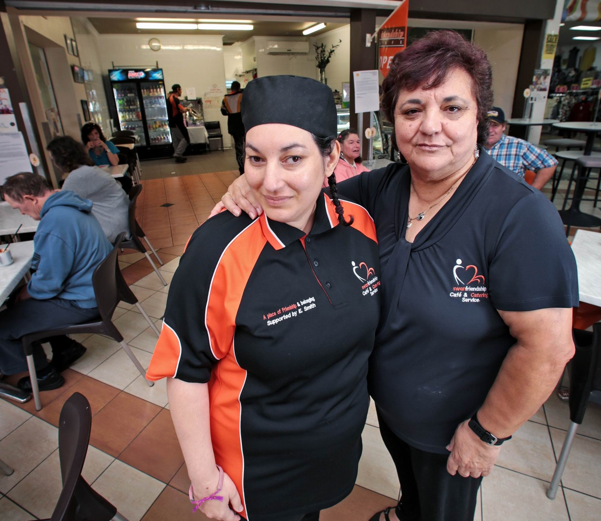 Swan Friendship Cafe: fundraising efforts to help get club back on feet