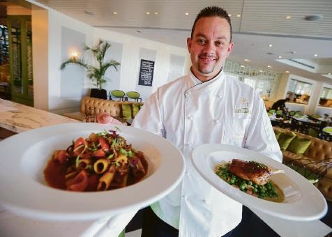 Chef de Cuisine Robert Murphy Picture: Matt Jelonek d452493