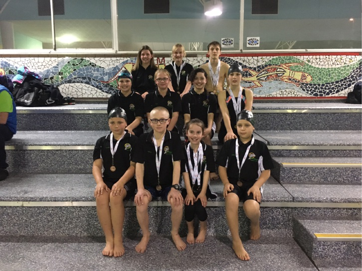 The Thornlie Swimming Club finished with five Golds.