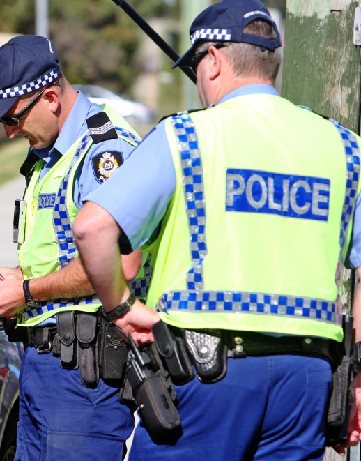 MP Tony Buti makes a good point about the need for a higher police presence in Armadale.
