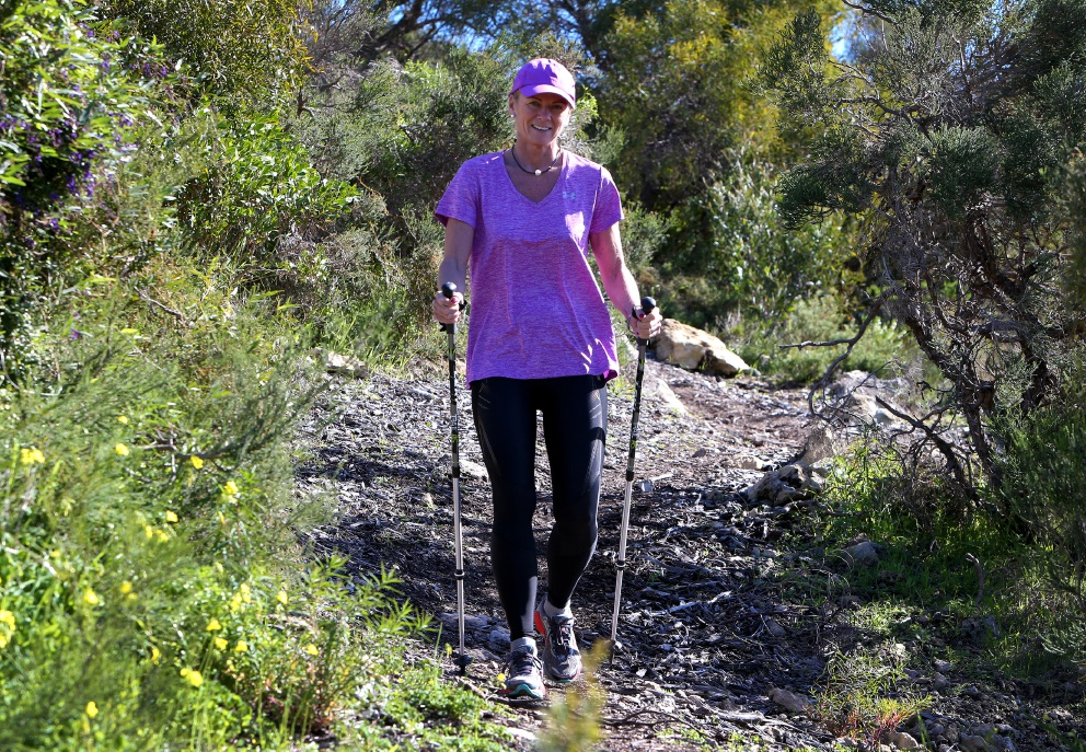 Annette Milne plans to complete four Oxfam Trailwalks in one year. Picture: Matt Jelonek        d457132