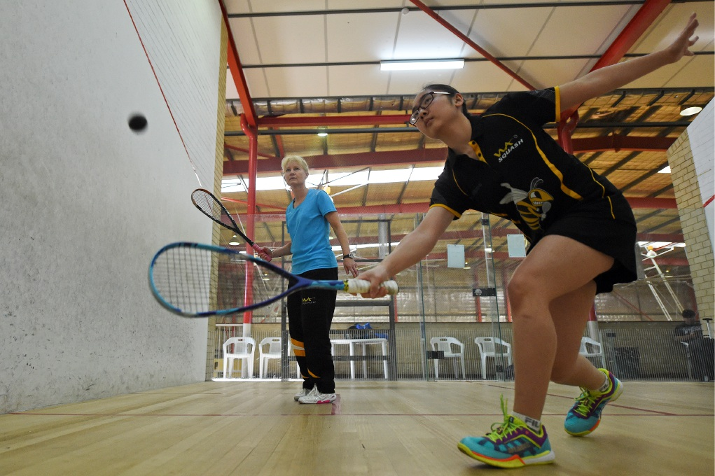 Victoria Park Squash Club well represented at state junior teams event