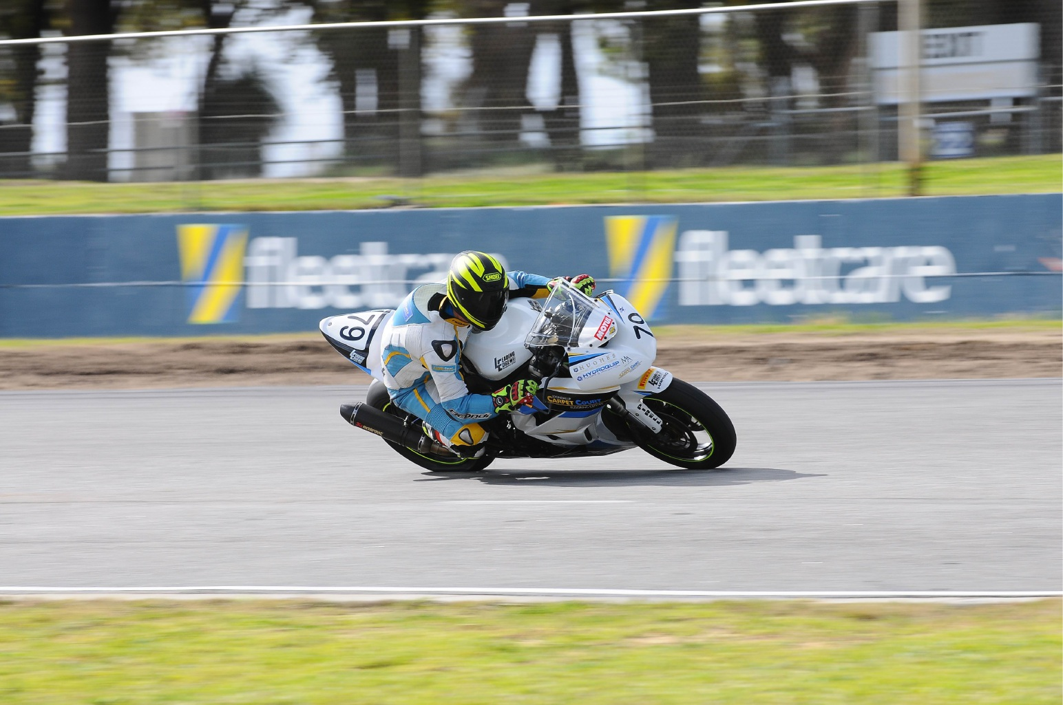 Matt Price will be in action in the road racing championships at Barbagallo on Sunday. Picture: John Innes