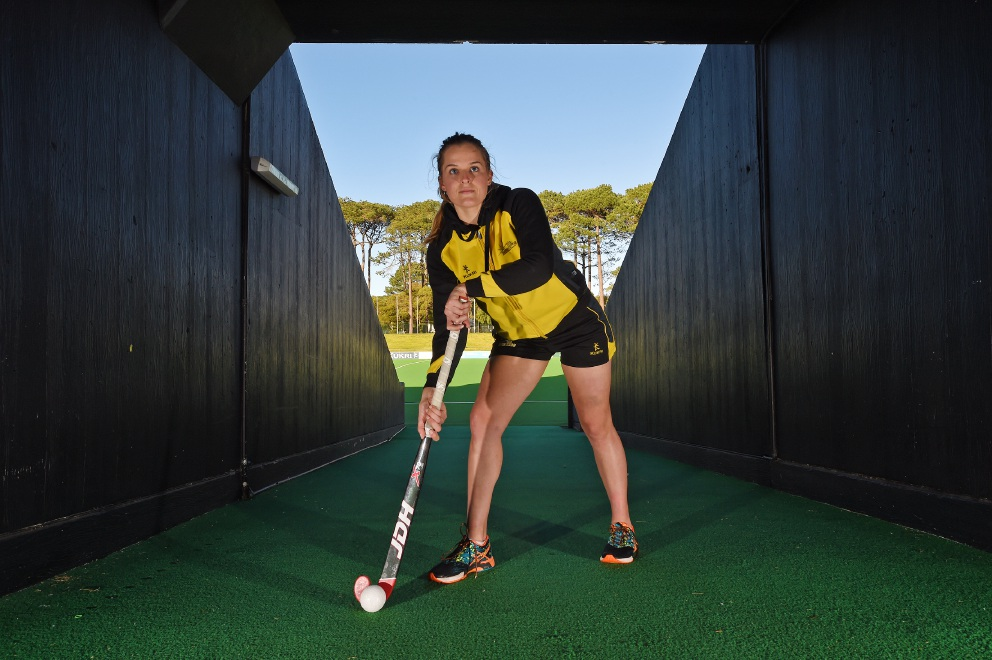 Maylands hockey goalkeeper Aleisha Power.