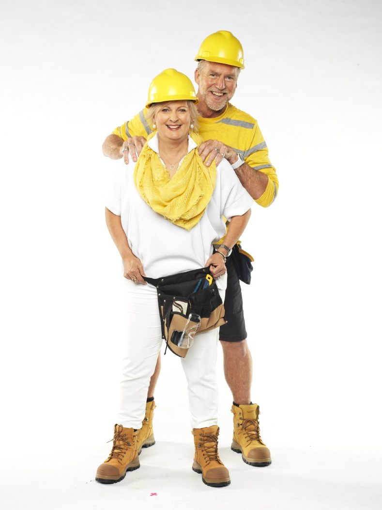 Former West Perth footballer Dan Foley and his wife Carleen are contestants on this season of The Block.