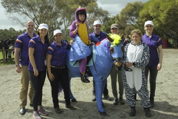 Thomas Brady at the 2015 Pinjarra for the Riding for the Disabled Association WA State Games.