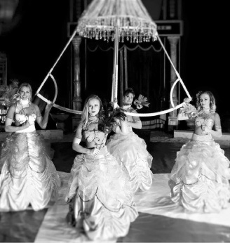 The Diamond Divas will present a sparkling act. Picture: Daniel Kwabena Craig