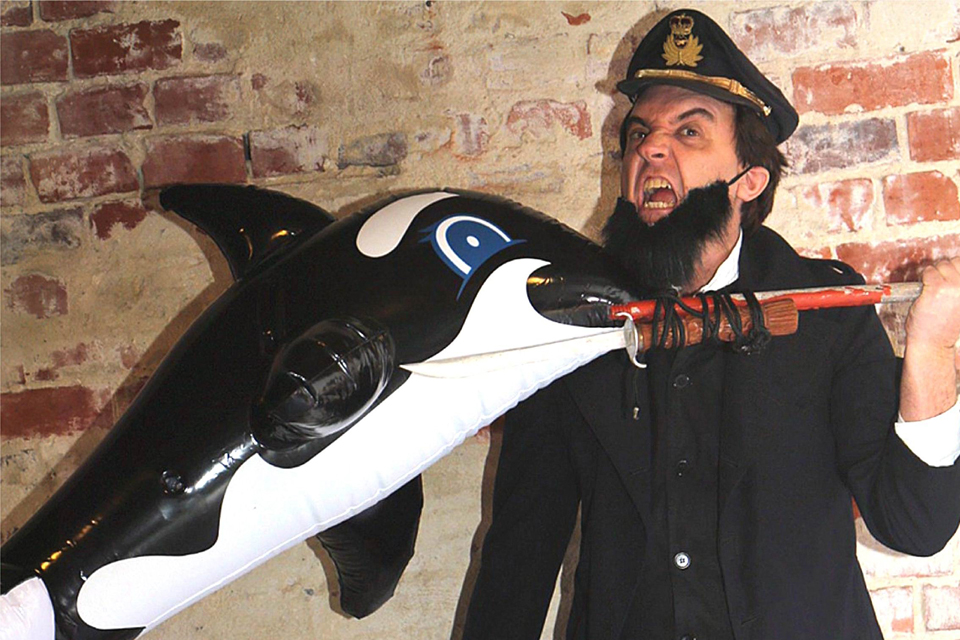 Moby Dick whale of a tale shortened to one-act comedy at Old Mill Theatre
