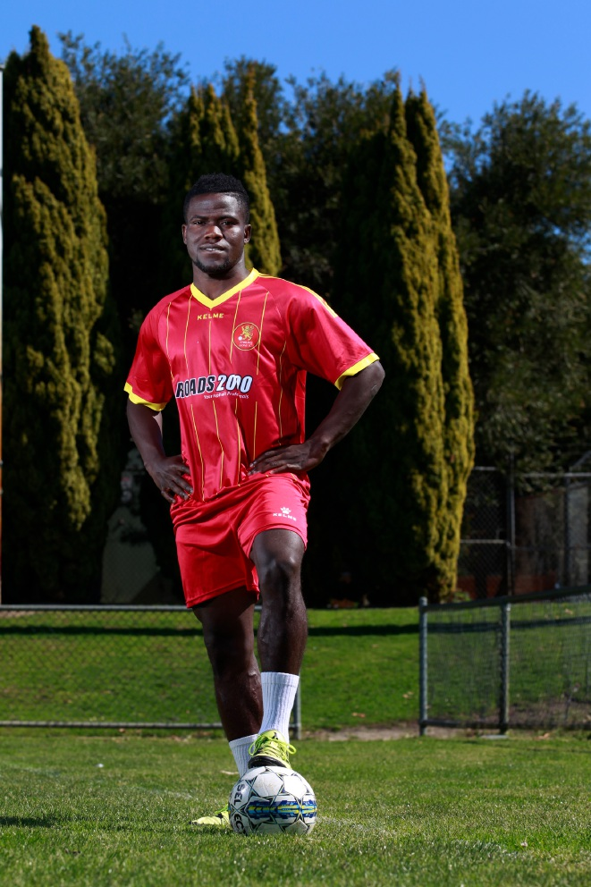 Stirling Lions' Teeboy Kamara hopeful in chase for A-League dream