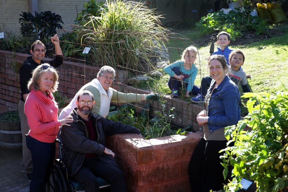 Duncraig Edible Garden members are happy the State Government will continue financial support of the program. Picture: Martin Kennealeyd456767