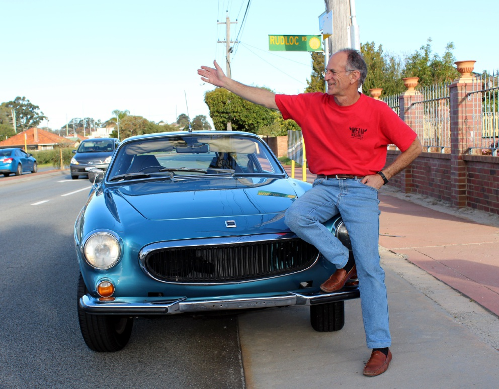 Mean Machines owner Neville Friedman wants Rudloc Road changed to Mean Street.