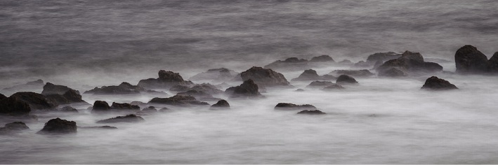 A misty coastal scene by Dale Neill.