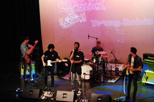 Hamish Graham (bass), Jarred Osborne (guitar), Jed Begho (vocals), Daniel Mulch (drums) and Ben Teune (guitar/vocals).