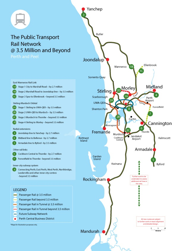 State Government plans to deliver Yanchep rail by 2.7 million