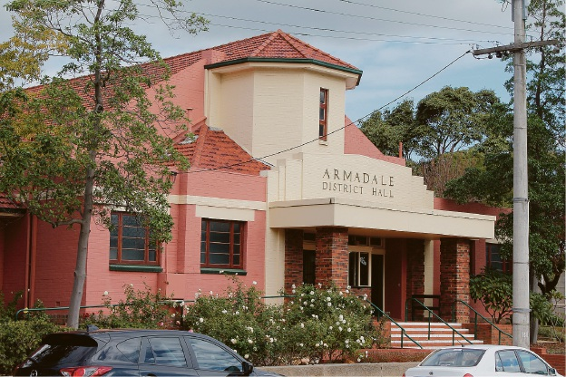 The Heritage Council of WA will undertake a site visit to the Armadale Hall when it receives a formal development application from the city.