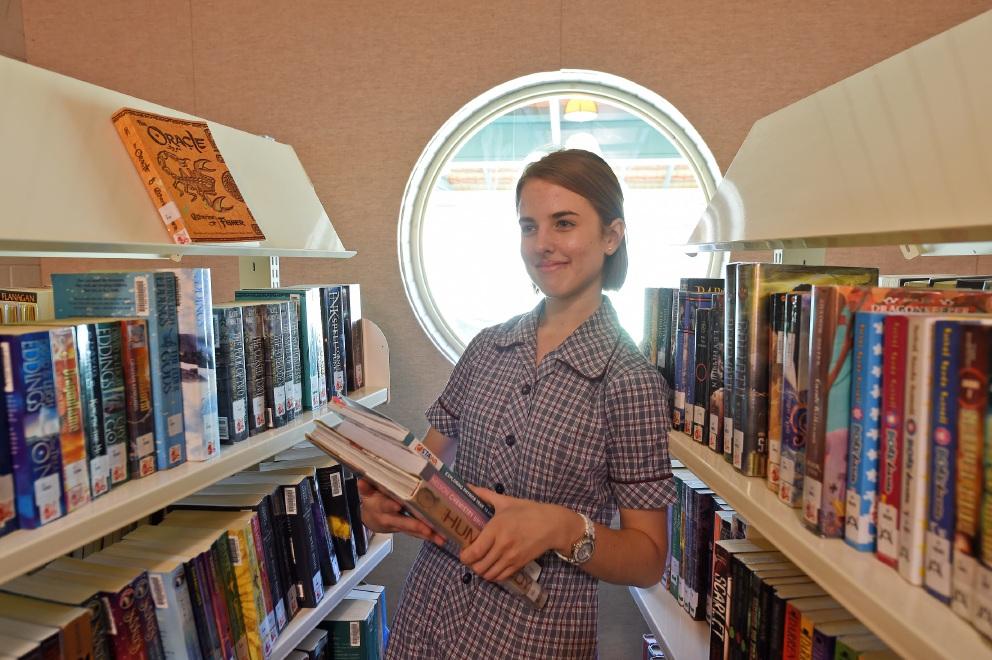 Mandurah Catholic College student Emma Herbert