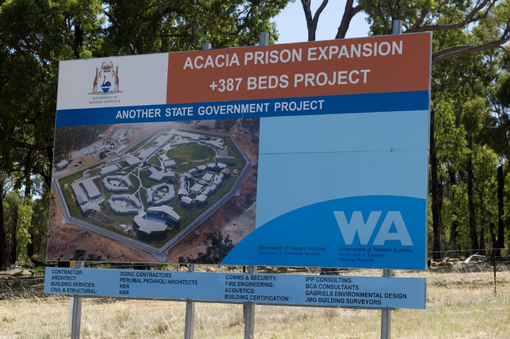 Praise and also suggestions for improvement at Acacia Prison.