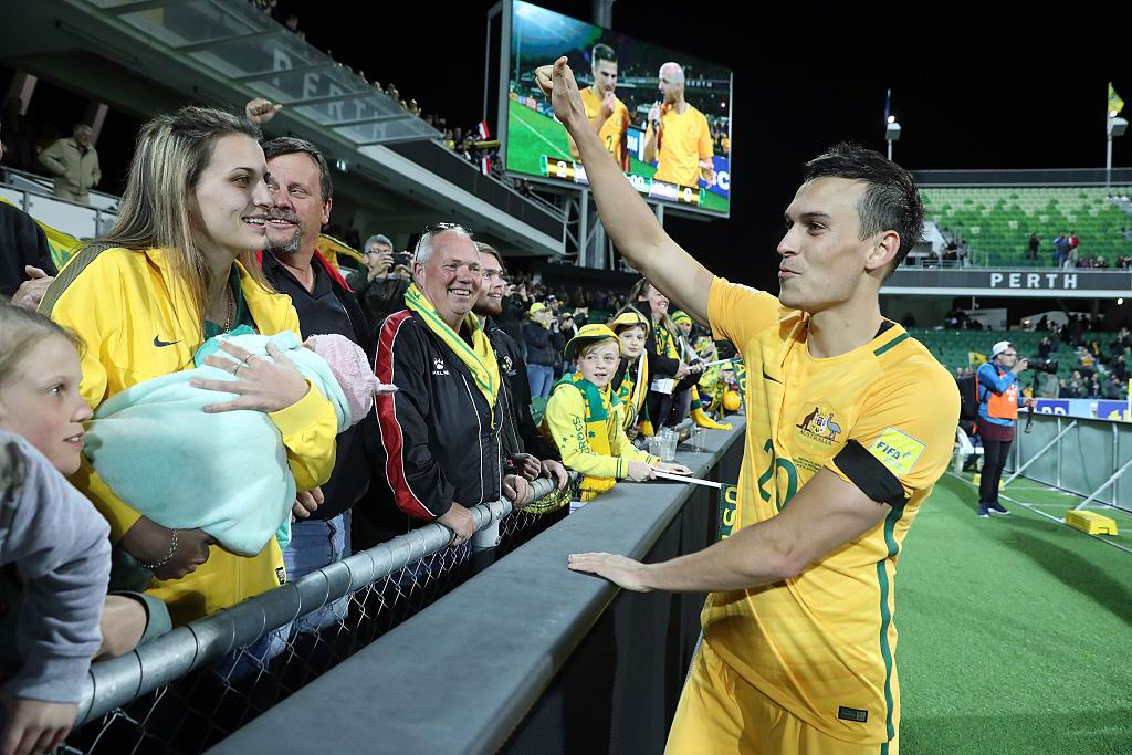 Arzani, Cahill named in 32-man Socceroos squad