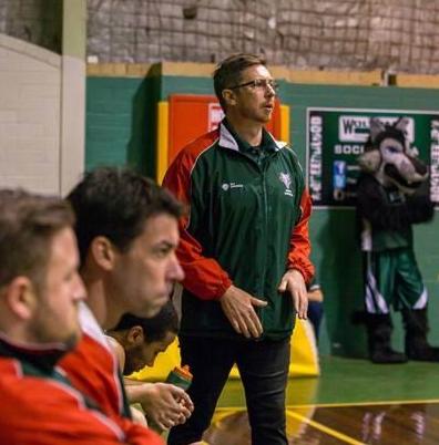 Coach Ben Ettridge. Picture: Serene Maisey