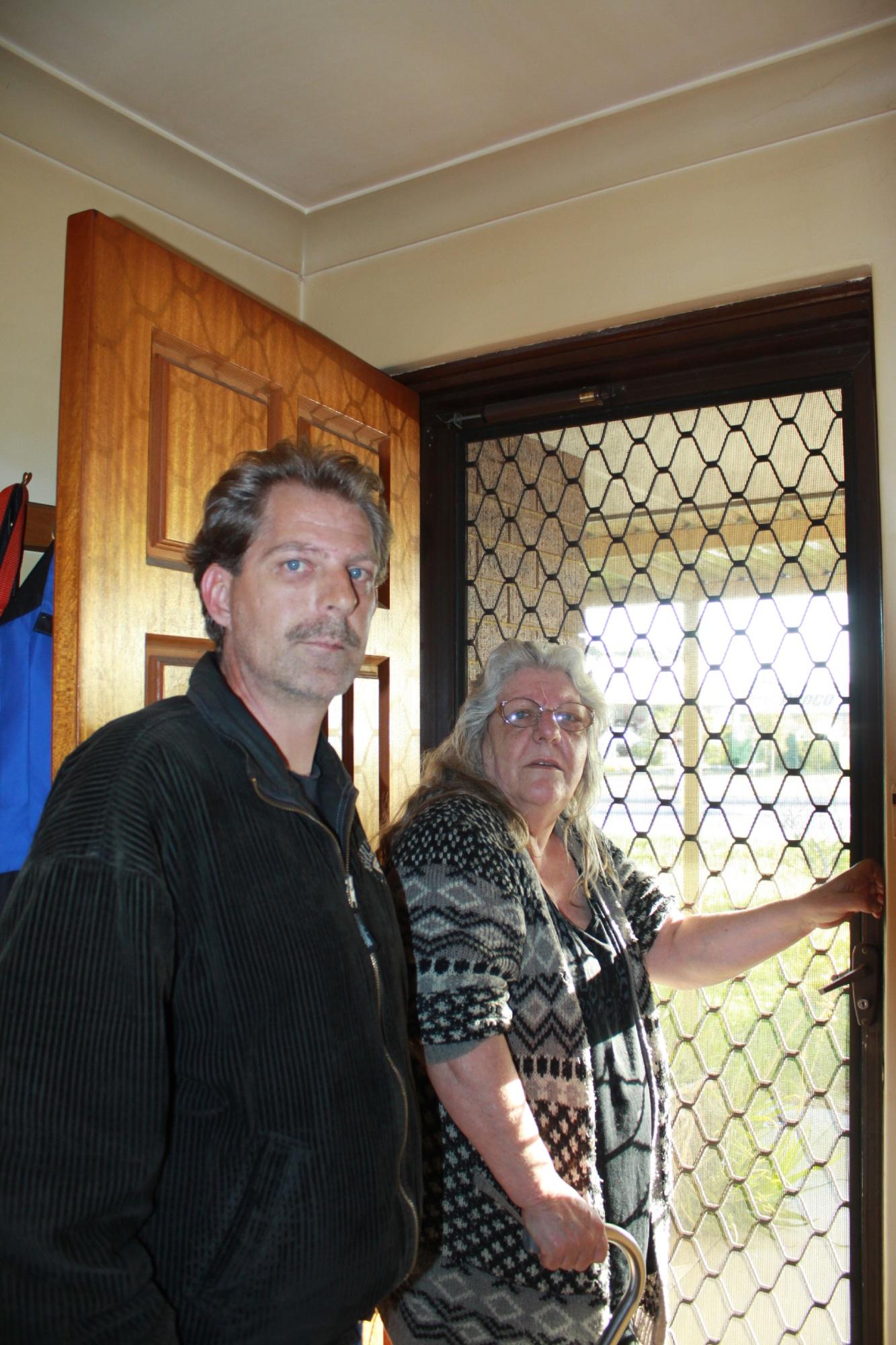 Victoria Starkey with her son David.