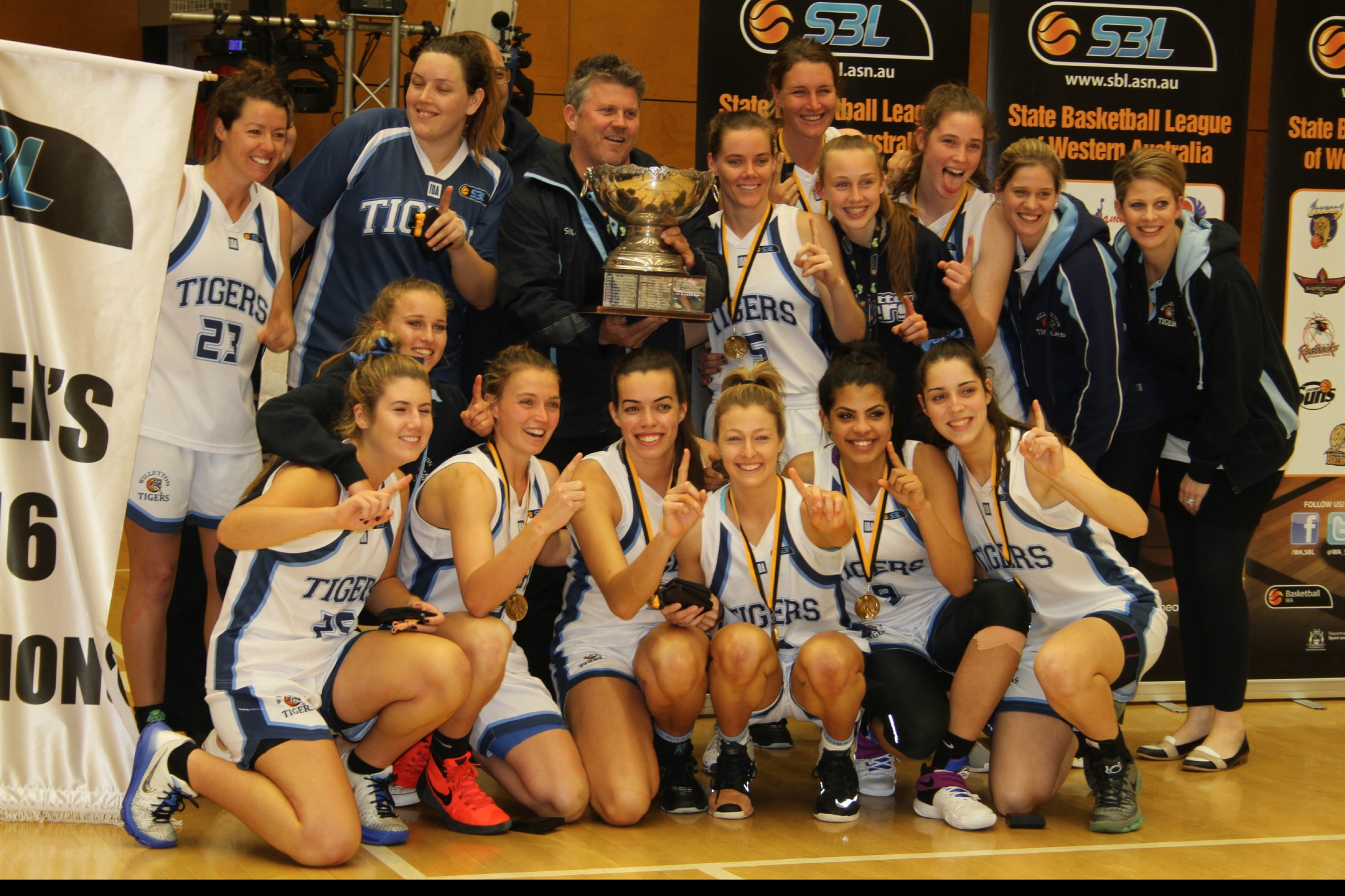 SBL: Tigers claim Women's championship in nail-biting win over Joondalup